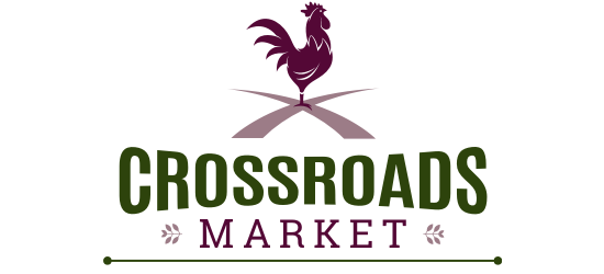 A theme logo of Crossroads Market